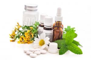 Image depicting items used for Nutritional Medicine