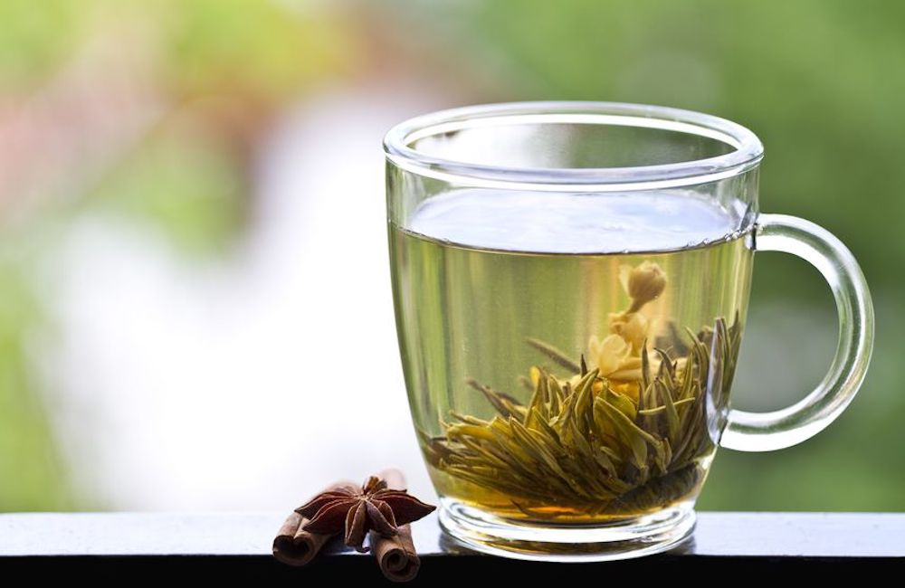 Image showing a cup of herbal medicine tea