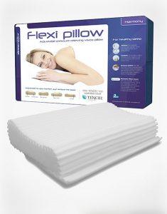 Image of the harmony pillow of the Flexi Pillows range